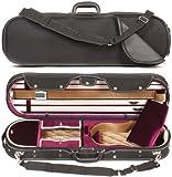 Core 575 Elliptical 4/4 Violin Case - Red Velvet Interior