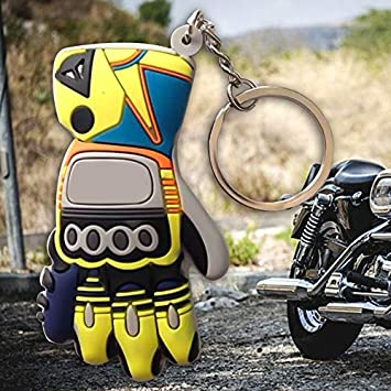 Amazon.com: Key Rings Rubber Motorcycle Accessories Moto Key ...