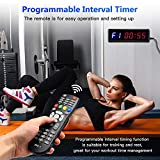 """Seesii Interval Timer Count Down/Up Clock, 1.5"""" 6"""