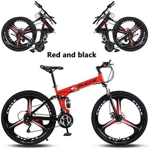 P.CHUXIN Bicicleta De Montaña Plegable 24/26 Pulgadas 27 ...