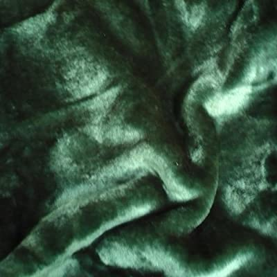 "Sara Solid Mink Bed Blanket, Queen/Full, Green - Queen/Full Size Measures 200cm x 240cm (78"" x 90"" Inch) Comes with Plastic Carrying Case - blankets-throws, bedroom-sheets-comforters, bedroom - 51D5RCItu2L. SS400  -"