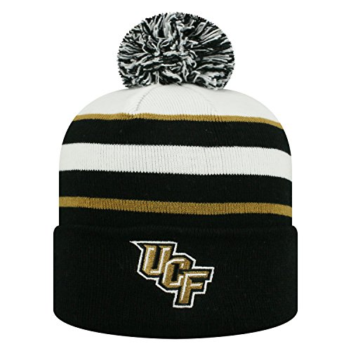 Top of the World Central Florida Knights Official NCAA Cuffed Knit Skyview Stocking Stretch Sock Hat Cap Beanie 478418