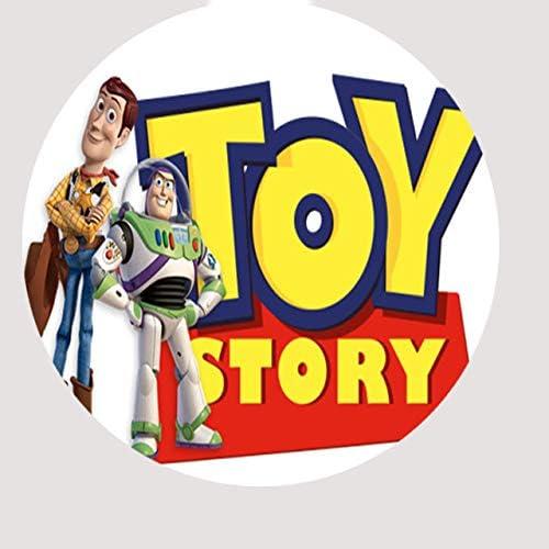 30/x Toy Story Cupcake en Papier de Riz Comestible 3,8/cm image 1