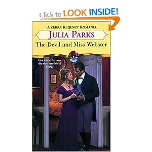 The Devil And Miss Webster (Zebra Regency Romance) Julia Parks