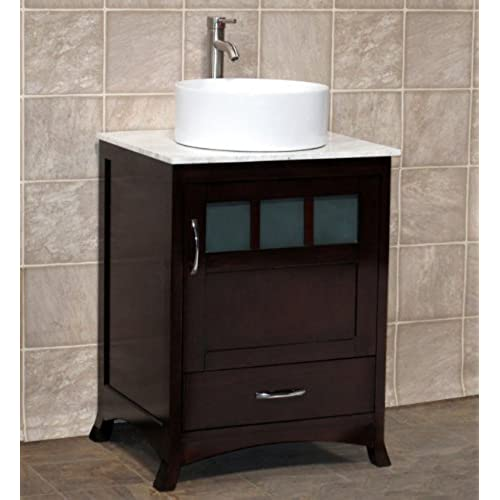 Solid Wood Bathroom Vanities Amazoncom - All wood bathroom vanities