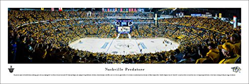 fan products of Nashville Predators Playoffs - Center Ice - Blakeway Panoramas NHL Unframed Print