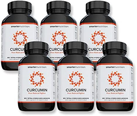 Smarter Turmeric Curcumin – Potency and Absorption in a SoftGel The Most Active Form of Curcuminoid Found in the Turmeric Root 95 Tetra-Hydro Curcuminoids 360 Count – 6 Month Supply