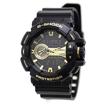Casio G-Shock GA-400GB Garish Series Watches - Black/Gold / One Size by G-Shock