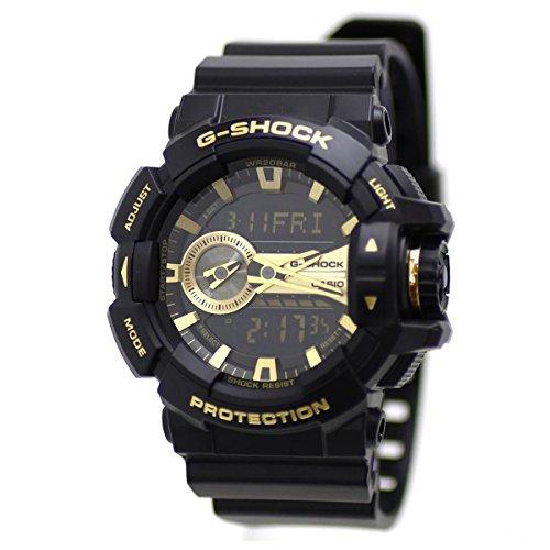 Casio G-Shock GA-400GB Garish Series Watches - Black/Gold / One Size