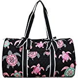 Sea Turtle PrintNGIL Large Quilted Duffle Bag