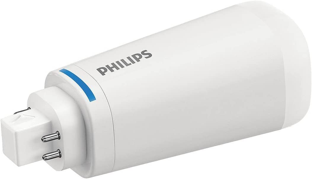 (10-Pack) Philips 458430 10.5PL-C/T LED/26V-4000 IF 4P 10.5-Watt LED Plug & Play Lamp Replacement for 4-Pin CFL Light Bulb, Vertical Mount (4000K) 51D5TBrXAEL
