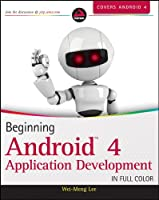 Beginning Android 4 Application Development Front Cover