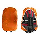 New Orange Waterproof Rain Cover Water Resist Proof for 25-40L Backpack Bag, Travel Accessories