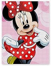 DIY 5D Diamond Painting Minnie Mouse Mozaïek Art Home Decor voor volwassenen en kinderen Thuis Keuken Hotel Kamer Decoratie Gift