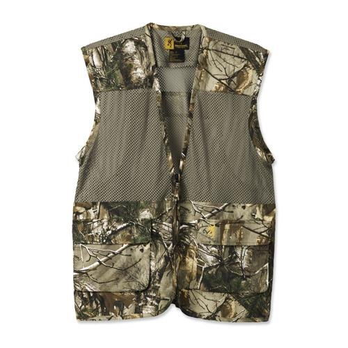 Browning Mens Vest - Browning Upland Dove Vest, Realtree Xtra, Large