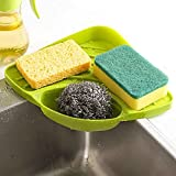 2017 New Colanders & Strainers Sponges Kitchen Sink Corner Shelf Wall Cuisine Dish Rack Drain