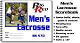 Big Red Lacrosse Scorebook Mens (EA)