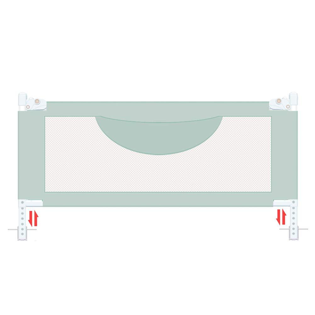 JY 幼児のためのベッドの柵 - 子供の双子、二重、大型のクイーンの子供のための特別に長いBedRailの監視ベッドレール150-200cmの緑 (サイズ さいず : 200cm) 200cm  B07MB7RQT7