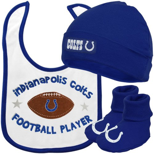 Infant Toddler Indianapolis Colts Bootie