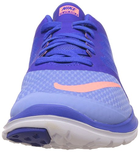 Nike Fs Lite Run 2 - Zapatillas de running Mujer Chalk Blue/Racer Blue/White/Atomic Pink