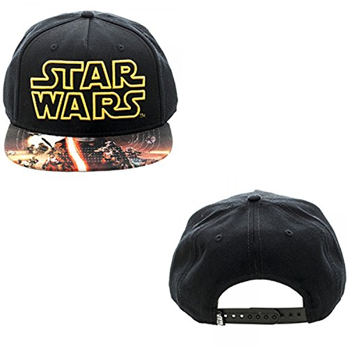 Star Wars Episode VII The Force Awakens Poster Snapback - Snapback Wars Star