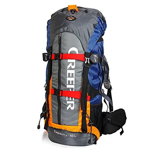 CREEPER Hiking Backpack 60L Trekking Rucksacks Waterproof Hiking...