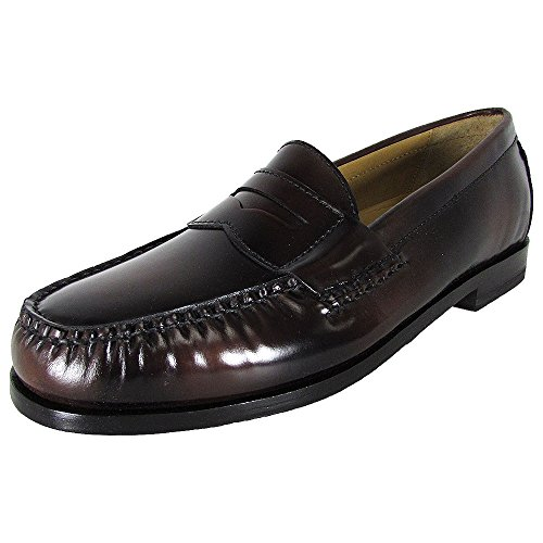 Cole Haan Men's Pinch Grand Penny Loafer, Mahogany, 8.5 Medium US