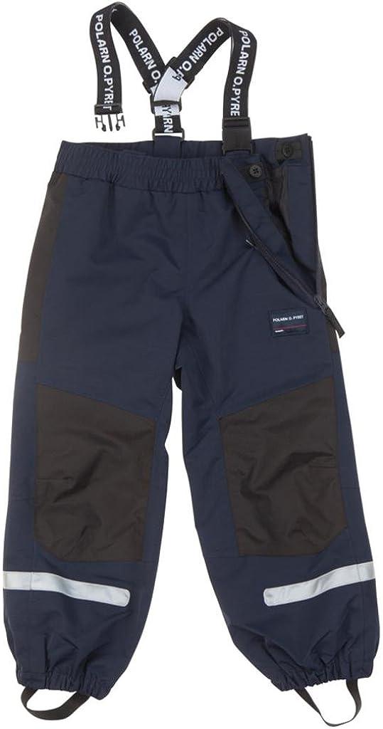 Pyret Waterproof Suspender Shell Pants - 3-4 Years//Dark Sapphire 2-6YRS Polarn O