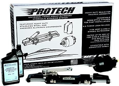 Uflex PROTECH 1.0 Protech Universal Front Mountng Steering System by Uflex