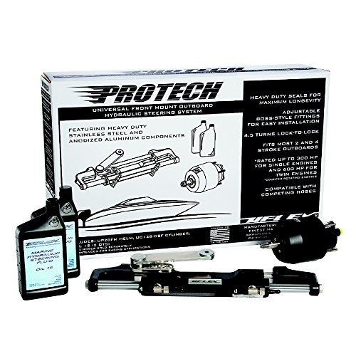 Uflex PROTECH 1.0 Protech Universal Front Mountng Steering - Outboard Pack Hydraulic