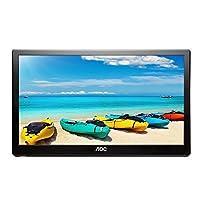 Deals on AOC I1659FWUX 16-inch IPS Ultra Slim 1080p LED Monitor Refurb