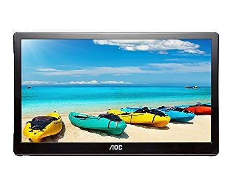 AOC e1759fwu 17-Inch USB 3.0 Powered Portable LED Monitor AOC International