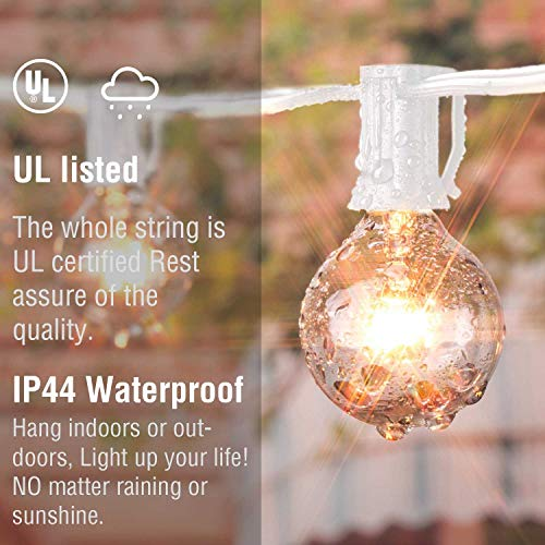 Buy outdoor party lights white