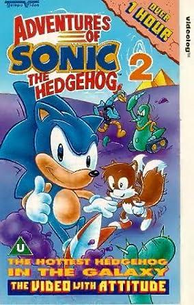 Adventures Of Sonic The Hedgehog 2 Vhs Amazon Co Uk Dvd Blu Ray