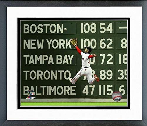 Andrew Benintendi Boston Red Sox 2018 World Series Action Photo (Size: 12.5