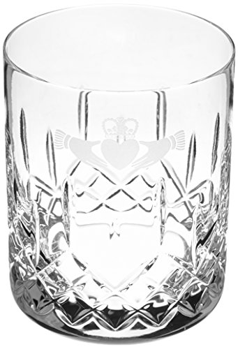 (Galway Claddagh Large Double Old Fashioned Pair )