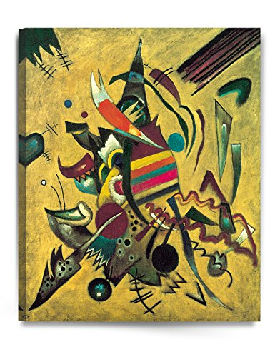 1920's Art - DecorArts - Points, 1920, Wassily Kandinsky Abstract Wall Art. Giclee Prints Canvas Art for Home Decor 24x30