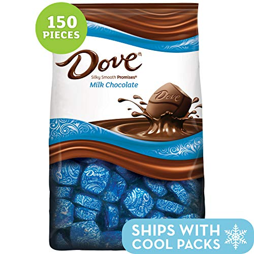(DOVE PROMISES Milk Chocolate Candy, 43.07-Ounce 153-Piece Bag)