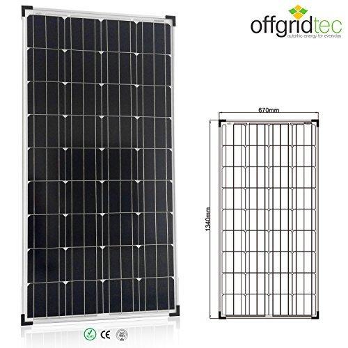 24 opinioni per Offgridtec 1255- Pannello solare 150w