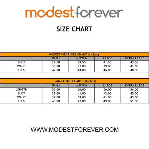 Green Forever Style Modest Abaya Maxi Long Moss q6ZEggw4F