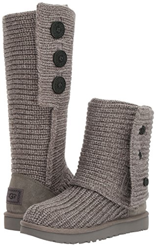 UGG Women's Classic Cardy Winter Boot, Grey, 8 B US by UGG (Image #6)