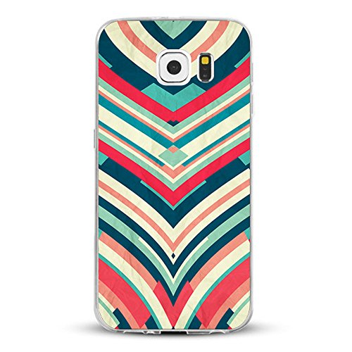 Vanki® Samsung Galaxy S7 Funda Silicona TPU Transparente Soft Clear Suave Flexible Anti Rasguños Anti Choque Ultra Delgado Case Cover para Samsung Galaxy S7 2016 Diseño Creativo 5