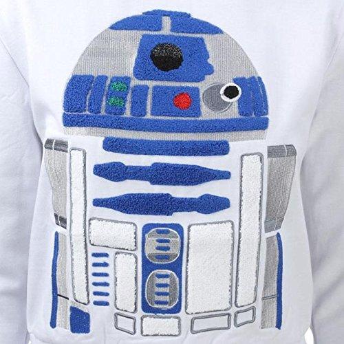 R2-D2 white Eleven Paris x Star Wars Women Powerspace Sweater