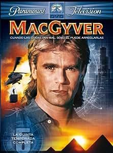MacGyver (5ª temporada) [DVD]