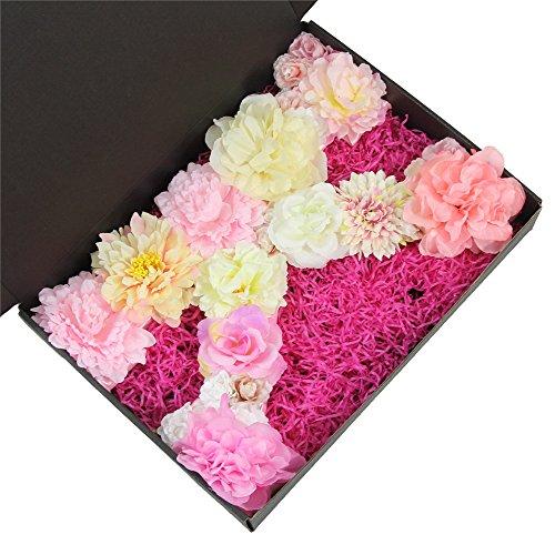 Floral Letter (Flower Letter Floral Letter Pale Blush Pink Flowers Personalised Wall Hanging Letter Initial Monogram Nursery Decor Baby Shower Art (13.59.51.5 inch, K))