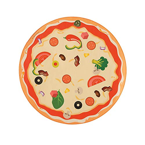 Fun Express Pizza Counting Sticker Scenes | 12 Background Sheets, 24 Sticker Sheets | Great for Classroom Activities, Math Curriculum, Educational Set, Teaching Materials