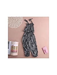 illusory44 New Overalls Girls Overalls Baby Girls Overalls Clothes Kids Bandage Elasticity Romper