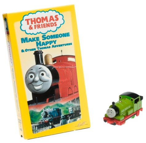 Thomas the Tank Engine & Friends - Make Someone Happy (with Toy Train) [VHS]