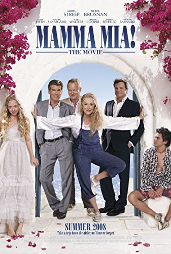 Mamma Mia Movie Poster 2 Sided Original Final Ver B Amanda Seyfried Meryl Streep