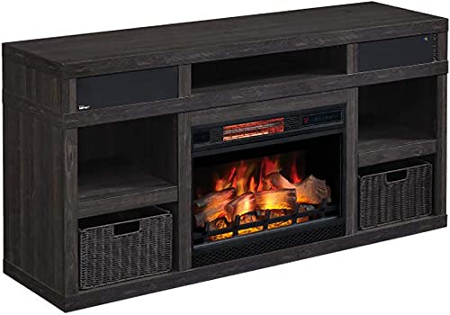 Greatlin Infrared Electric Fireplace TV Stand